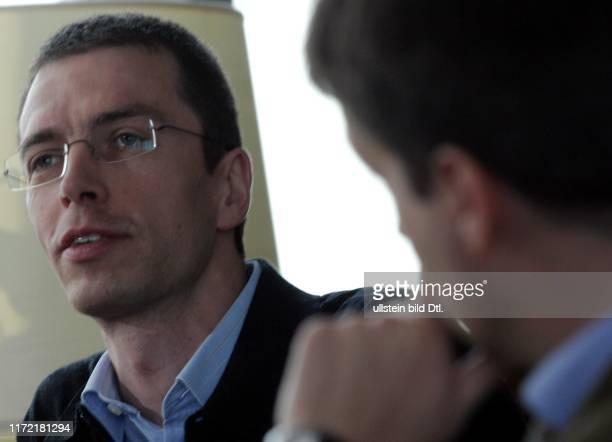 Gabor Steingart und Prof Paul Nolte diskutieren im Journalistenclub Axel Springer ueber die Zukunft Deutschlands