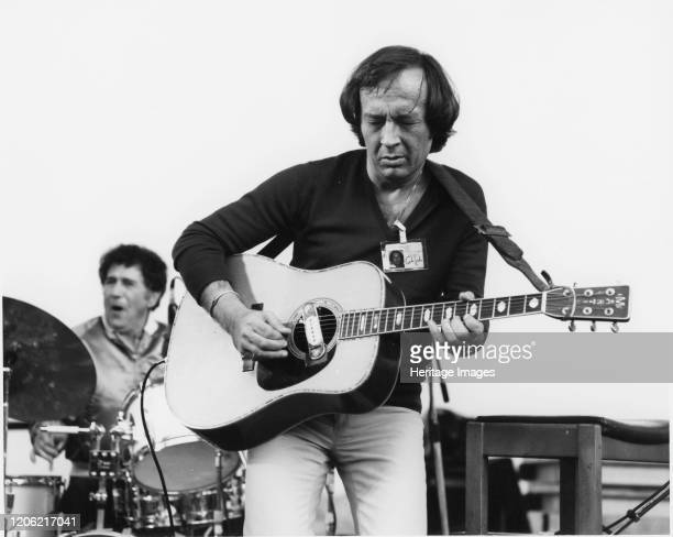Gabor Szabo, Capital Radio Jazz Festival, London,1979. Artist Brian Foskett.