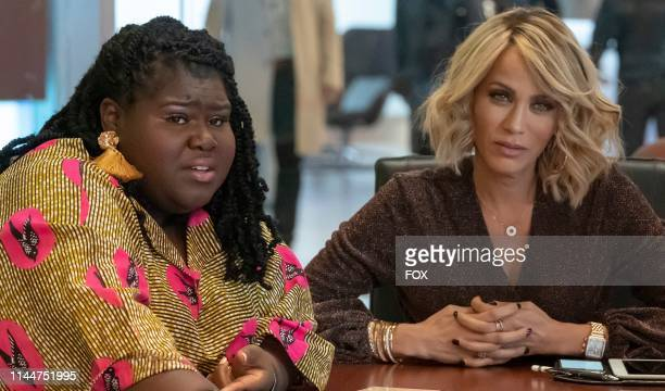 Gabourey Sidibe and Nicole Ari Parker in the Without All Remedy episode of EMPIRE airing Wednesday April 10 on FOX