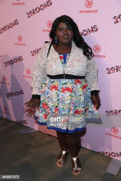 Gabourey Sidibe attends 29Rooms Opening Night 2017 on September 7 2017 in New York City