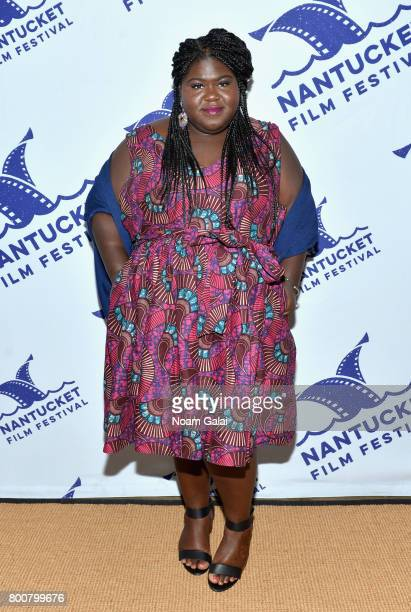 Gabourey Sidibe attends Afternoon Tea Talk during the 2017 Nantucket Film Festival Day 5 on June 25 2017 in Nantucket Massachusetts