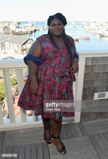 Gabourey Sidibe attends 'Afternoon Tea Talk' during the 2017 Nantucket Film Festival Day 5 on June 25 2017 in Nantucket Massachusetts