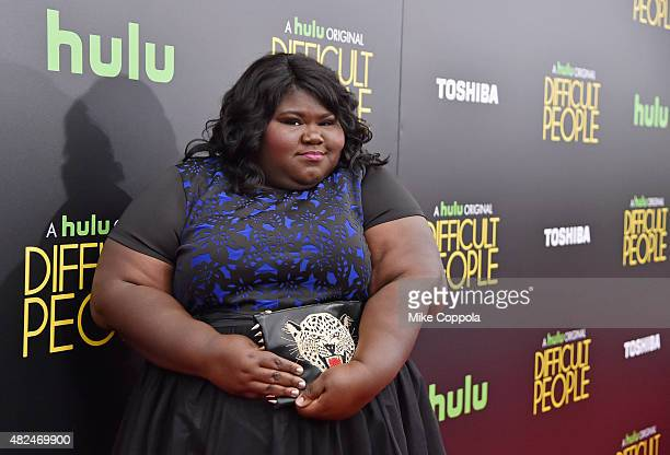 Gabourey Sidibe attends Hulu Original 'Difficult People' Premiere on July 30 2015 in New York City
