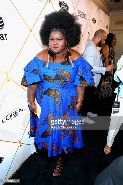 Gabourey Sidibe attends the 2018 Essence Black Women In Hollywood Oscars Luncheon at Regent Beverly Wilshire Hotel on March 1 2018 in Beverly Hills...