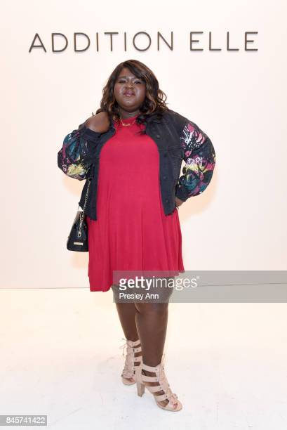 Gabourey Sidibe attends the ADDITION ELLE NYFW September 2017 Runway Presentation on September 11 2017 in New York City