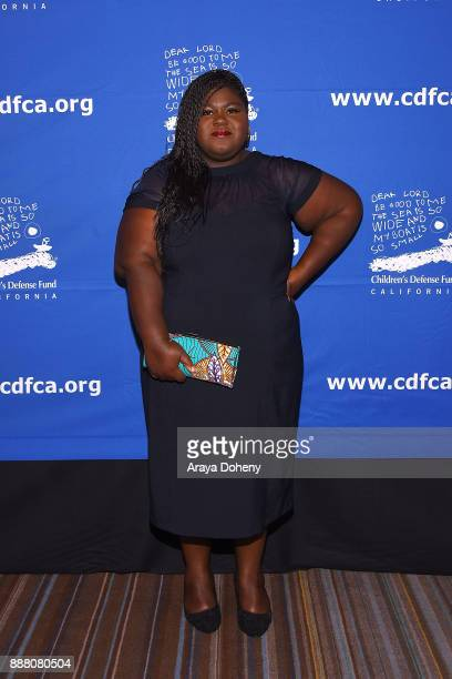 Gabourey Sidibe attends the Children's Defense FundCalifornia's 27th Annual Beat The Odds Awards at the Beverly Wilshire Four Seasons Hotel on...