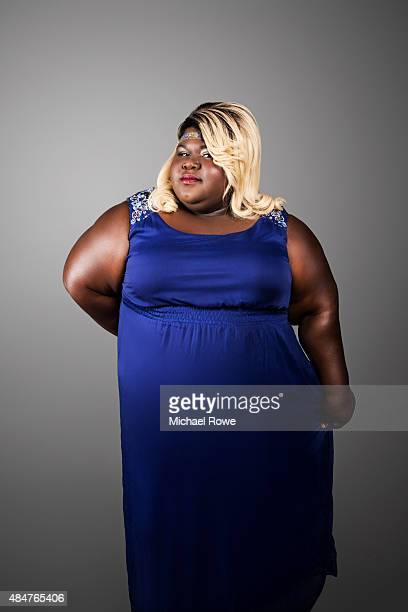 Gabourey Sidibe is photographed at the 2015 Essence Festival for Essence Magazine on July 3 2015 in New Orleans Louisiana
