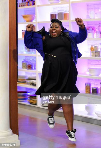 THE CHEW Gabourey Sidibe is the guest Thursday May 4 2017 on ABC's 'The Chew' 'The Chew' airs MONDAY FRIDAY on the ABC Television Network SIDIBE