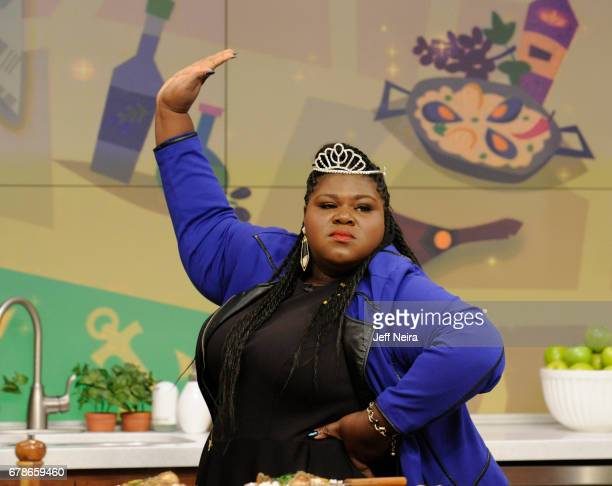 THE CHEW Gabourey Sidibe is the guest Thursday May 4 2017 on Walt Disney Television via Getty Images's The Chew The Chew airs MONDAY FRIDAY on the...