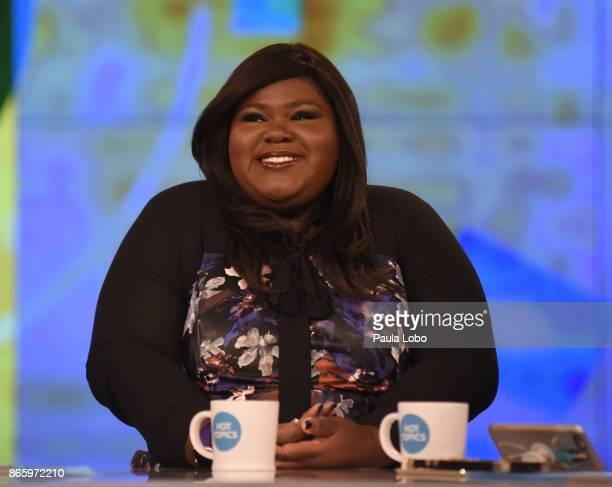 THE VIEW Gabourey Sidibe is the guest Tuesday October 24 2017 on ABC's 'The View' 'The View' airs MondayFriday on the ABC Television Network SIDIBE