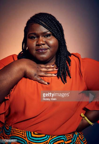 Gabourey Sidibe of the film 'Come As You Are' poses for a portrait at the 2019 SXSW Film Festival Portrait Studio on March 9 2019 in Austin Texas