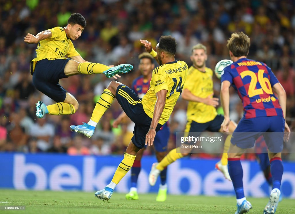 FC Barcelona v Arsenal - Pre-Season Friendly : ニュース写真