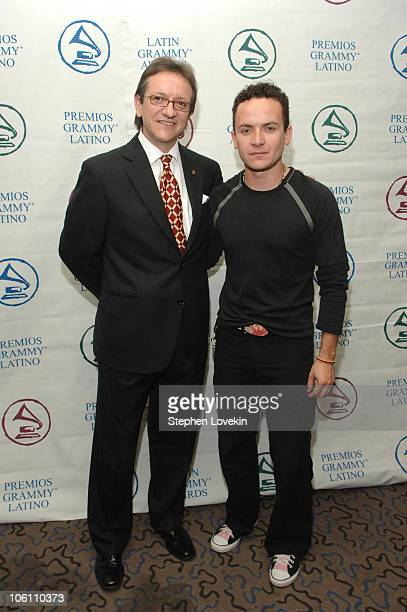 Gabriel Abaroa President of The Latin Recording Academy and Fonseca