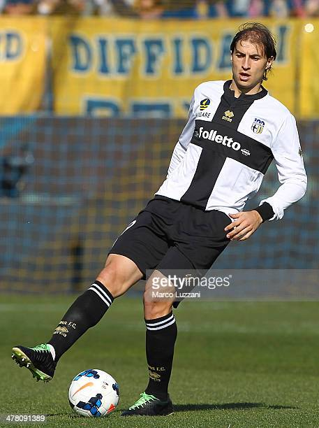 Gabriel Alejandro Paletta of Parma FC in action during the Serie A match between Parma FC and Hellas Verona FC at Stadio Ennio Tardini on March 9...
