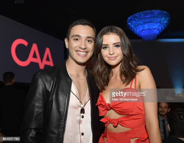 Gabriel and Jess Conte at the 2017 Streamy Awards at The Beverly Hilton Hotel on September 26 2017 in Beverly Hills California