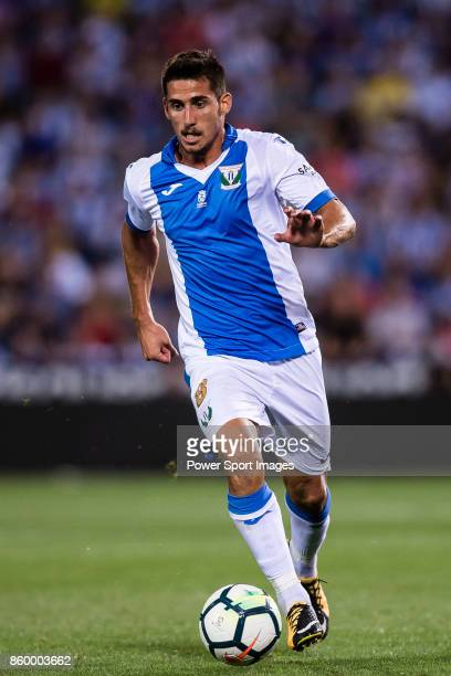 Gabriel Appelt Pires of CD Leganes in action during the La Liga 201718 match between CD Leganes and Atletico de Madrid on 30 September 2017 in Madrid...