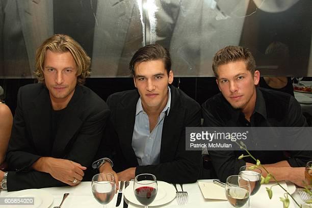 Gabriel Aubry and Adam Senn attend ITALO ZUCCHELLI and CALVIN KLEIN COLLECTION Host a Dinner Celebrating VMan and the Boys of Wilhelmina 2007...