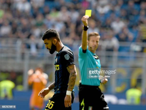 Gabriel Barbosa Almeida of FC Internazionale during the Serie A match between FC Internazionale and US Sassuolo at Stadio Giuseppe Meazza on May 14...