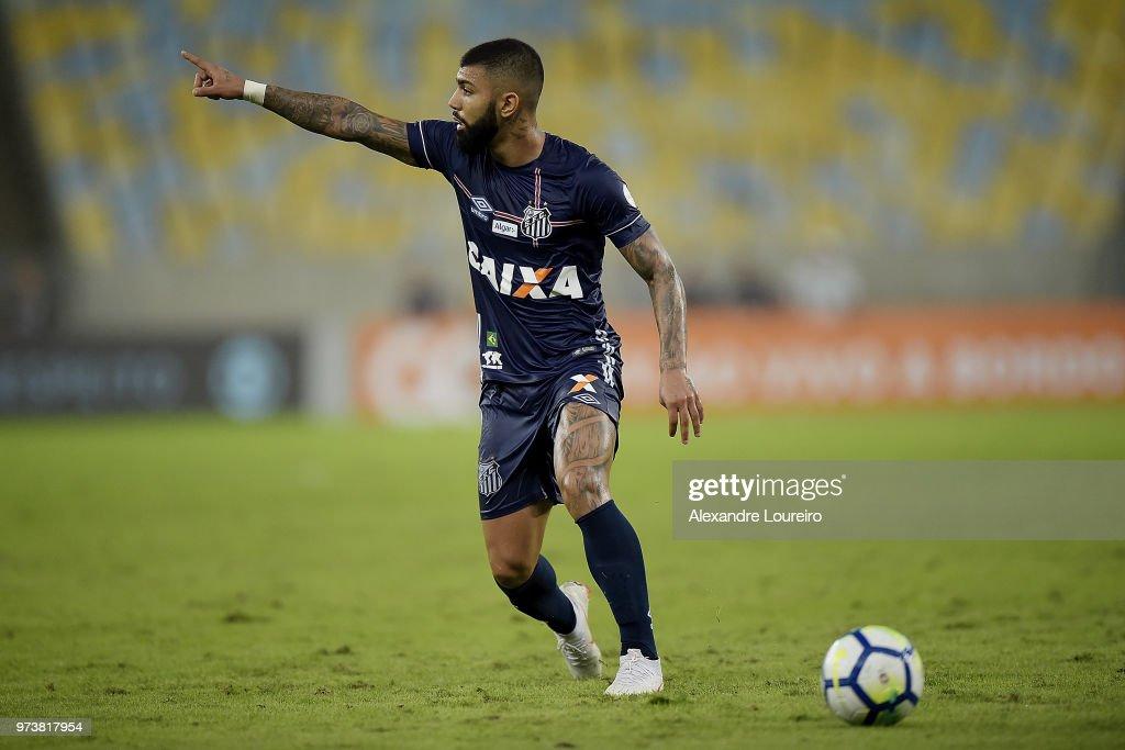 Fluminense v Santos - Brasileirao Series A 2018 : News Photo
