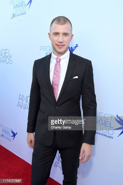 Gabriel Butu attends Project Angel Food's 29th Annual Angel Awards on September 14 2019 in Hollywood California