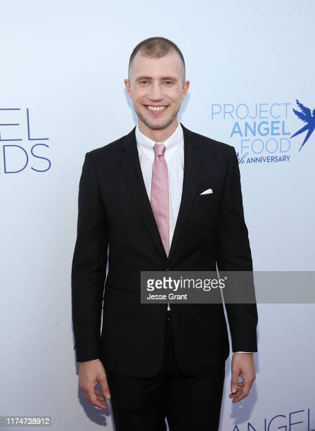 Gabriel Butu attends Project Angel Food's Angel Awards Gala at Project Angel Food on September 14 2019 in Los Angeles California