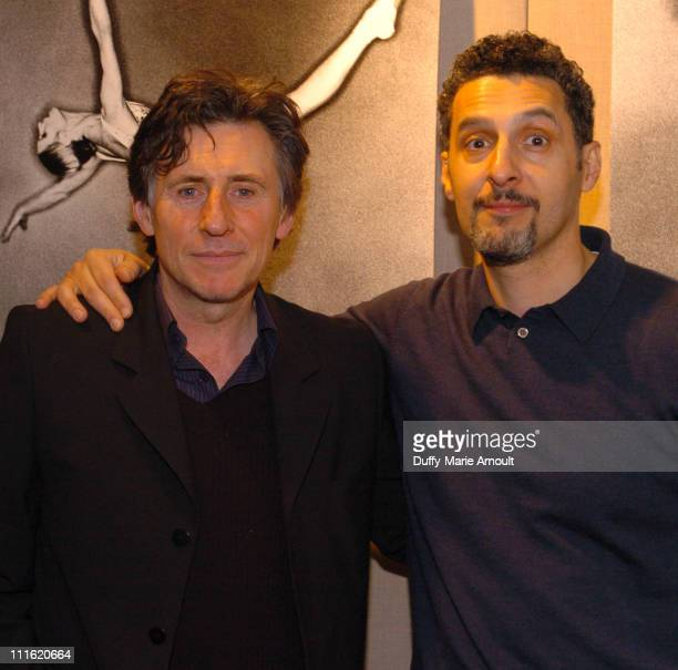 Gabriel Byrne and John Turturro during Film Society of Lincoln Center Presents Miller's Crossing at Walter Reade Theater in New York City New York...
