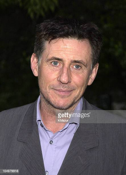Gabriel Byrne during 2002 Tribeca Film Festival Vanity Fair Party at The State Supreme Courthouse in New York City New York United States