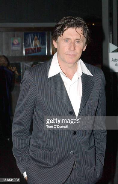 Gabriel Byrne during Brian McFadden Alison Moyet And Gabriel Byrne Attend The Late Late Show at The Late Late Show in Dublin Ireland