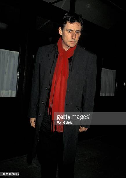 Gabriel Byrne during Fundraiser For Statue Commemorating the Irish Potato Famine at Thompson Street Cafe in New York City, New York, United States.