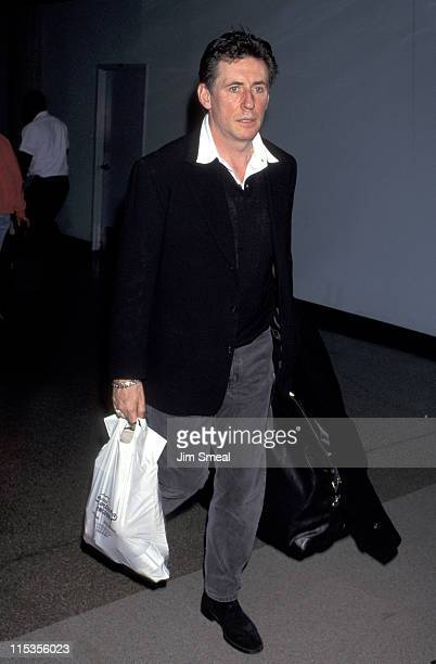Gabriel Byrne during Gabriel Byrne Sighting at LAX February 16 1997 at Los Angeles International Airport in Los Angeles California United States