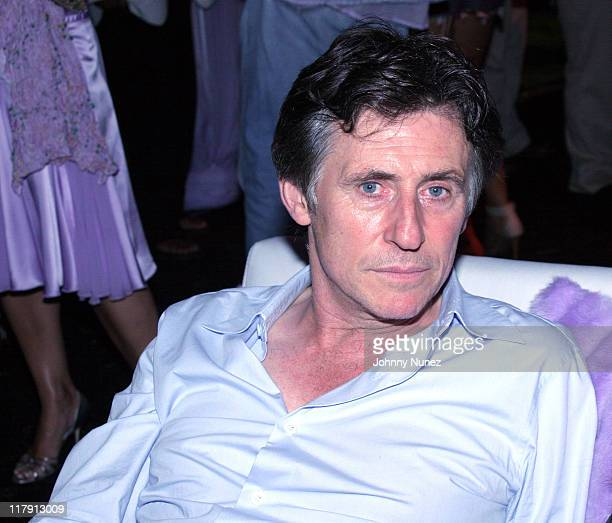 Gabriel Byrne during Philanthropic Arts Foundation's Sixth Annual 'Art For Life' Benefit Inside at Private East Hampton Estate of Russell and Kimora...