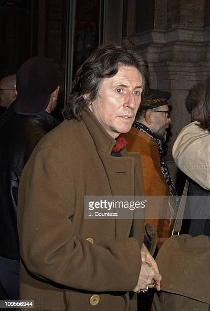 Gabriel Byrne during Tibet House Benefit Concert Arrivals at Carnegie Hall in New York City New York United States