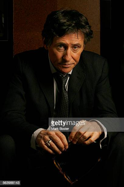 –Gabriel Byrne is the star of the HBO's In Treatment cast as a moody thoughtful character–a lot like the actor March 10 2008