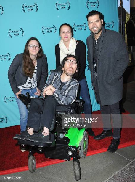 Gabriel Carnick Michael Carnic Melissa Harkness and Mig Feliciano arrive for the 2018 Santa Monica International Film Festival Award Show held at...
