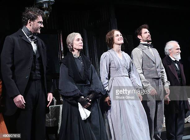 Gabriel Ebert Judith Light Keira Knightley and Matt Ryan take their first preview performance of 'Roundabout Theater Company's production of 'Therese...