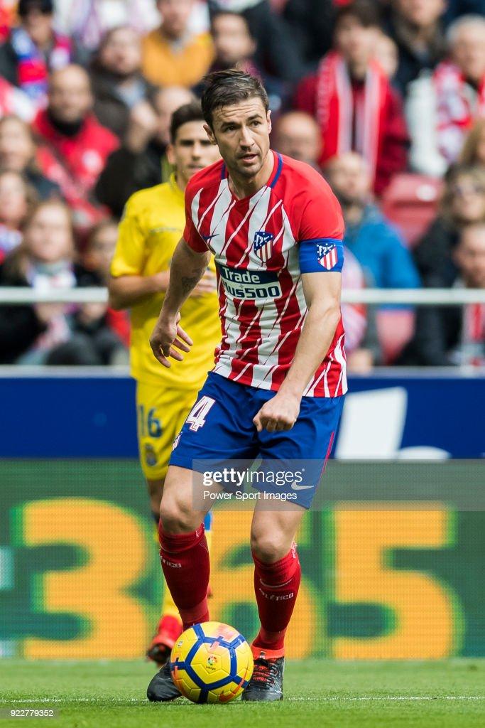 Gabriel Fernandez Arenas, Gabi, of Atletico de Madrid in action during the La Liga 2017-18 match between Atletico de Madrid and UD Las Palmas at Wanda Metropolitano on January 28 2018 in Madrid, Spain.