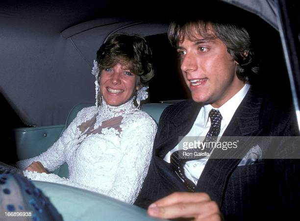 Gabriel Ferrer and Debby Boone attend Debby BooneGabriel Ferrer Wedding Ceremony on September 1 1979 at the Hollywood Presbyterian Church in...