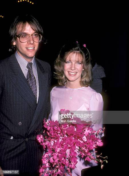 Gabriel Ferrer and Debby Boone attend Donna FrebergTodd Fisher Wedding on February 15 1981 at the Beverly Hilton Hotel in Beverly Hills California