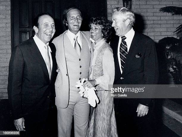 Gabriel Ferrer and Pat Boone attend Debby BooneGabriel Ferrer Wedding Ceremony on September 1 1979 at the Hollywood Presbyterian Church in Hollywood...