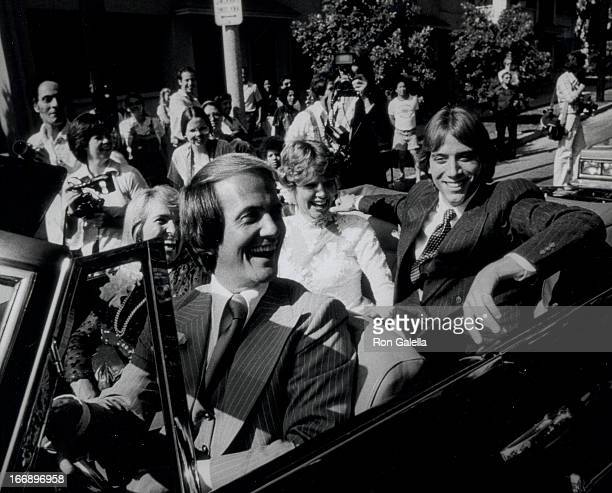 Gabriel Ferrer Debby Boone Shirley Boone and Pat Boone attend Debby BooneGabriel Ferrer Wedding Ceremony on September 1 1979 at the Hollywood...