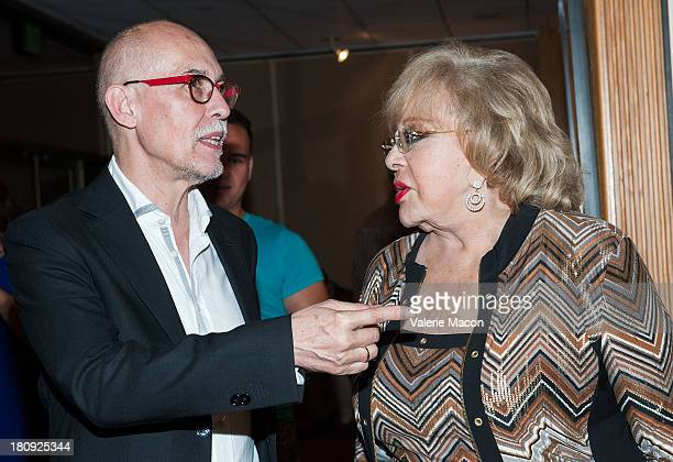 Gabriel Figueroa Flores and Silvia Pinal attends The Academy Of Motion Picture Arts And Sciences Presents An Evening Honoring Iconic Mexican...