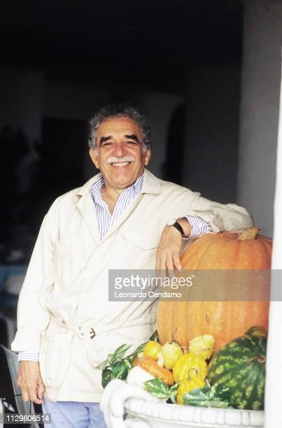 Gabriel Garcia Marquez Colombia writer Nobel Prize Venice Italy March 1992