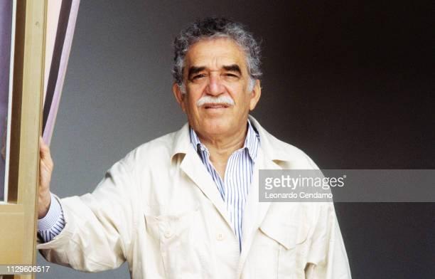 Gabriel Garcia Marquez Colombian writer and novelist Nobel Prize Literature 1982 Lido Italy 1982