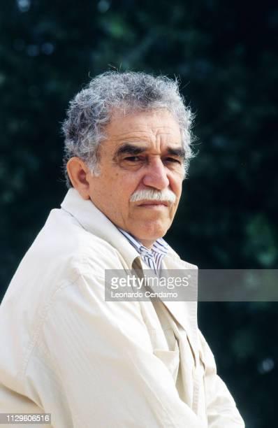 Gabriel Garcia Marquez Columbian writer and novelist Nobel Prize Literature 1982 Lido Italy 1982
