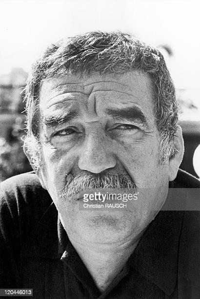 Gabriel Garcia Marquez In Havana Cuba In 1982