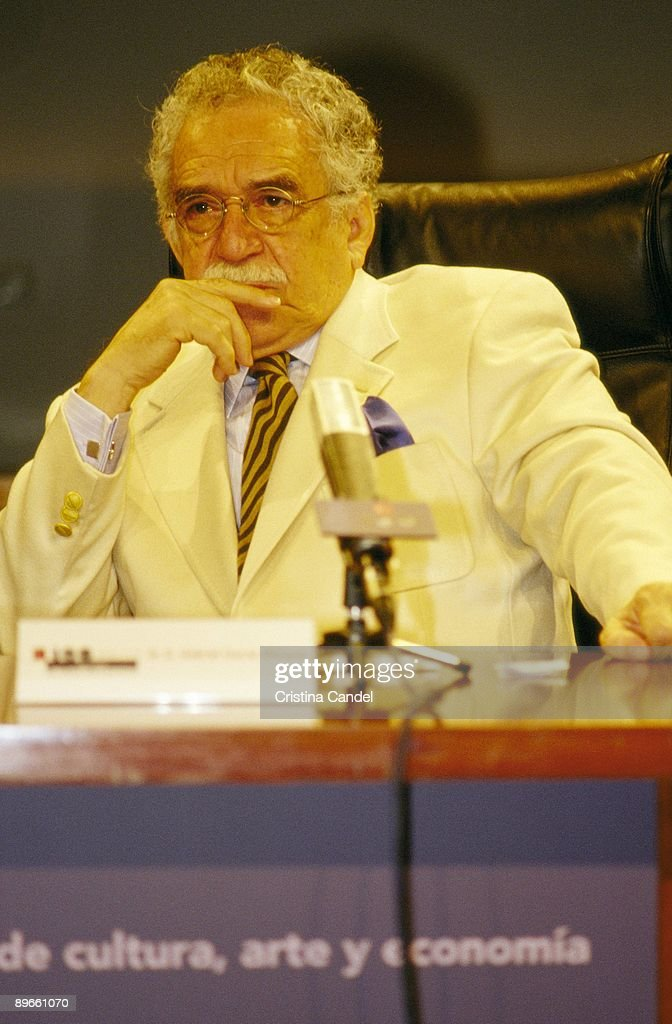 Gabriel García Márquez, writer During the meeting ´The strength of the Ibero-American creation´ : News Photo