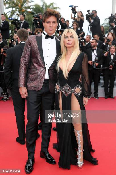 """Gabriel Garko and a guest attend the opening ceremony and screening of """"The Dead Don't Die"""" during the 72nd annual Cannes Film Festival on May 14,..."""