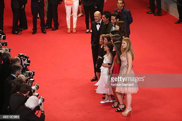 Gabriel Garko Charlotte Gainsbourg Justin Pearson Giulia Salerno Andrea Pittorino and director Asia Argento attend the 'Misunderstood' premiere...