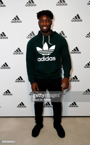 Gabriel Ibitoye attends the new adidas store launch event in Westfield London's £600m expansion The new adidas store is now the largest in the UK and...