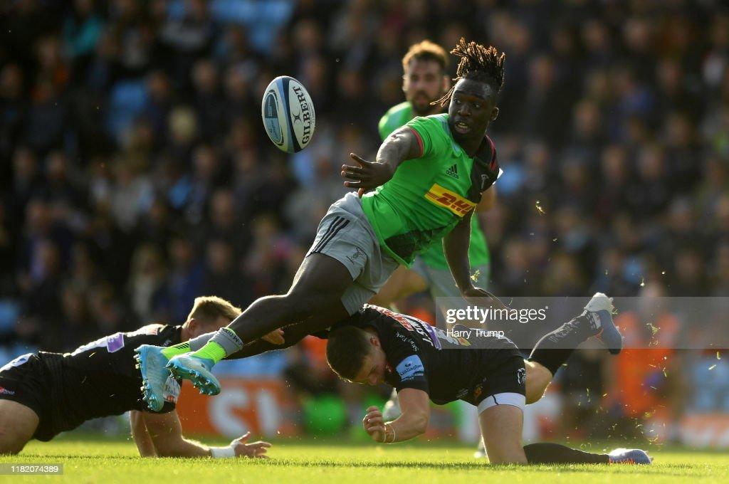 Exeter Chiefs v Harlequins - Gallagher Premiership Rugby : ニュース写真